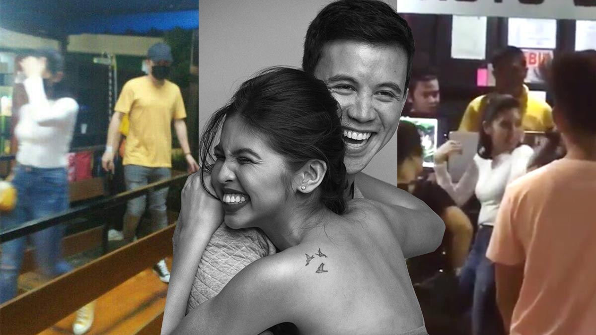 Maine Mendoza, Arjo Atayde spotted on a date at Star City