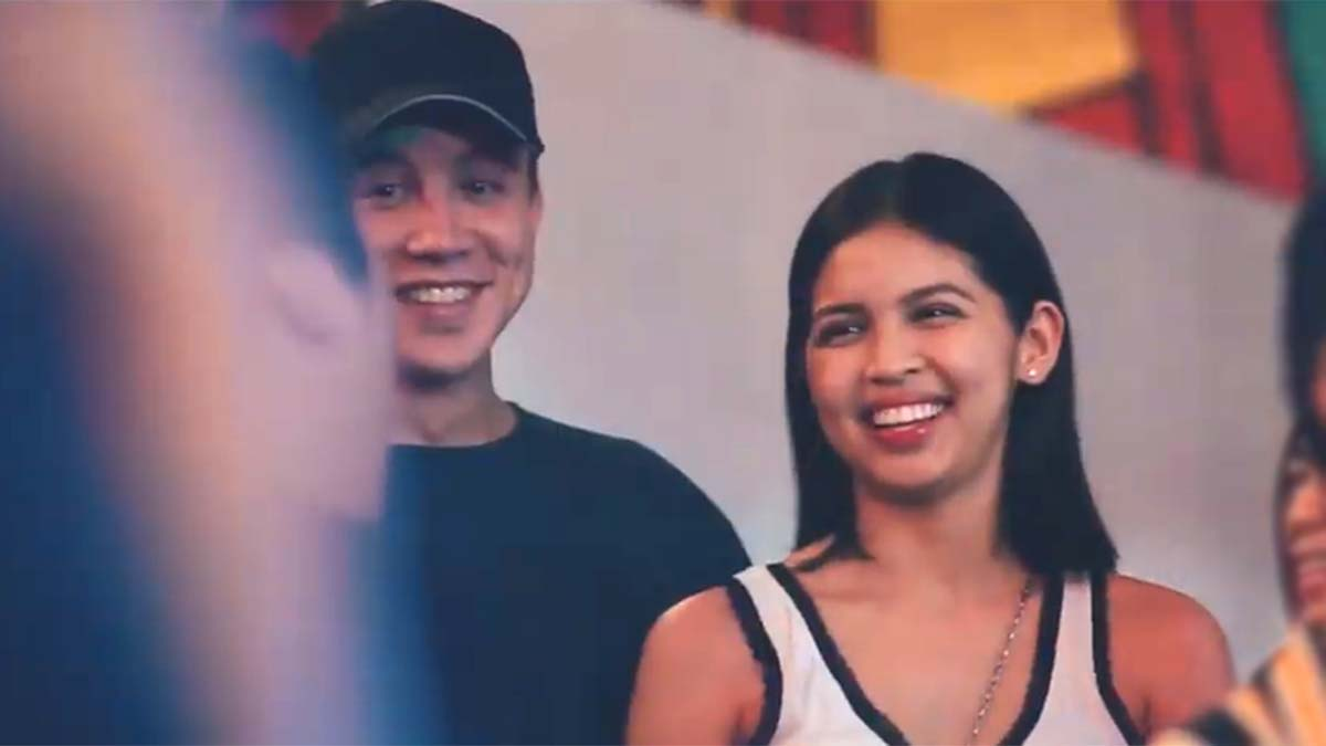 Maine Mendoza, Arjo Atayde spotted at Benilde's grand homecoming