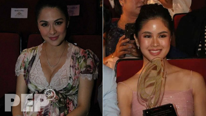 ABS-CBN star Kisses Delavin crosses paths anew with GMA-7 actress Marian Rivera