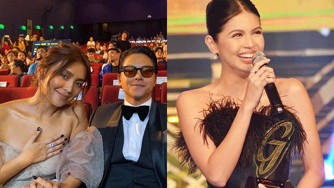 Maine Mendoza greets Kathniel at Guillermo 2019
