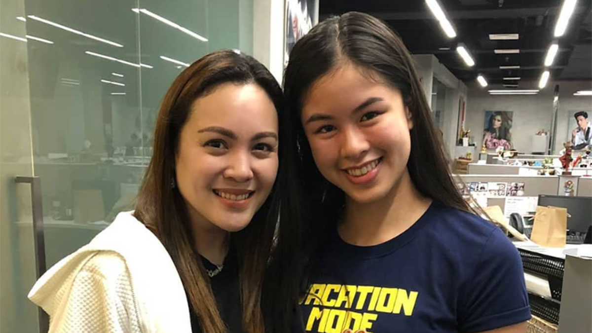 "Claudine Barretto spotted at ABS-CBN; described by Kisses as ""ABS-CBN Teleserye Queen"""