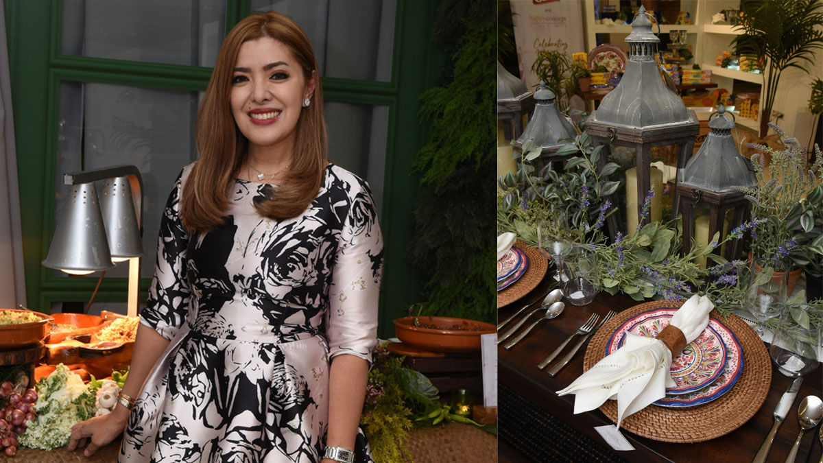 Happy Ongpauco gives tips on easy-does-it tablescapes