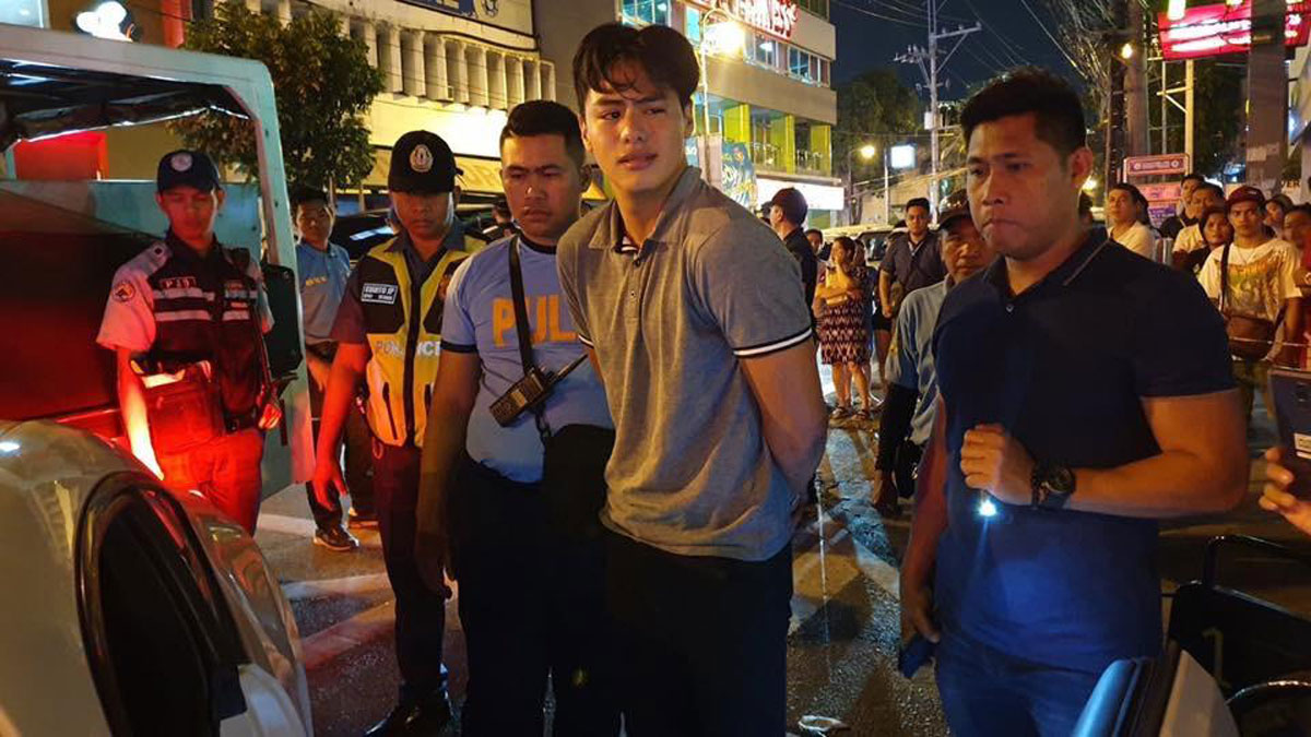 Kapuso actor Migo Adecer arrested in Makati for alleged hit-and-run