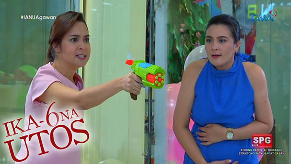 Sunshine Dizon and Ryza Cenon's iconic nerf gun scene in Ika-6 Na Utos.