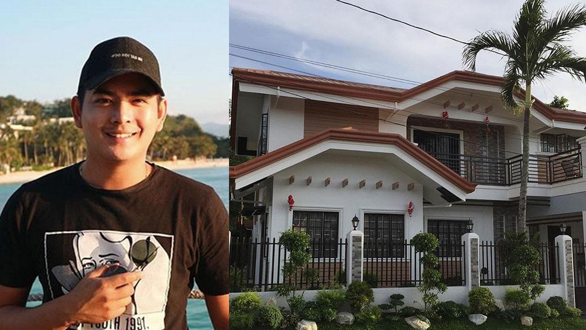 Neil Coleta's house in Cavite now fully paid, thanks to his raket!