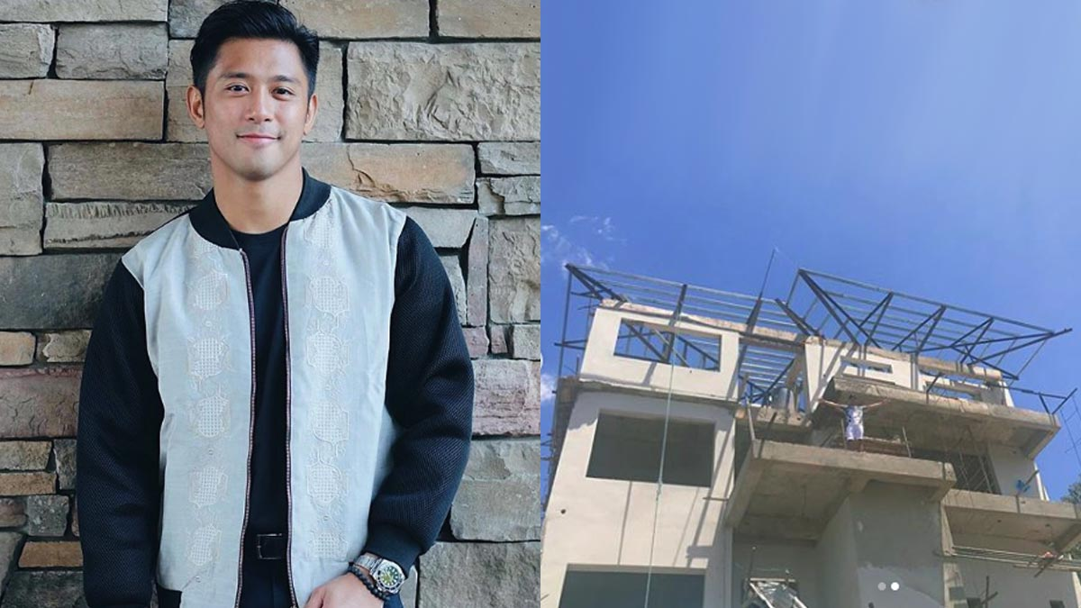 One important thing Rocco Nacino has to do before moving to his house