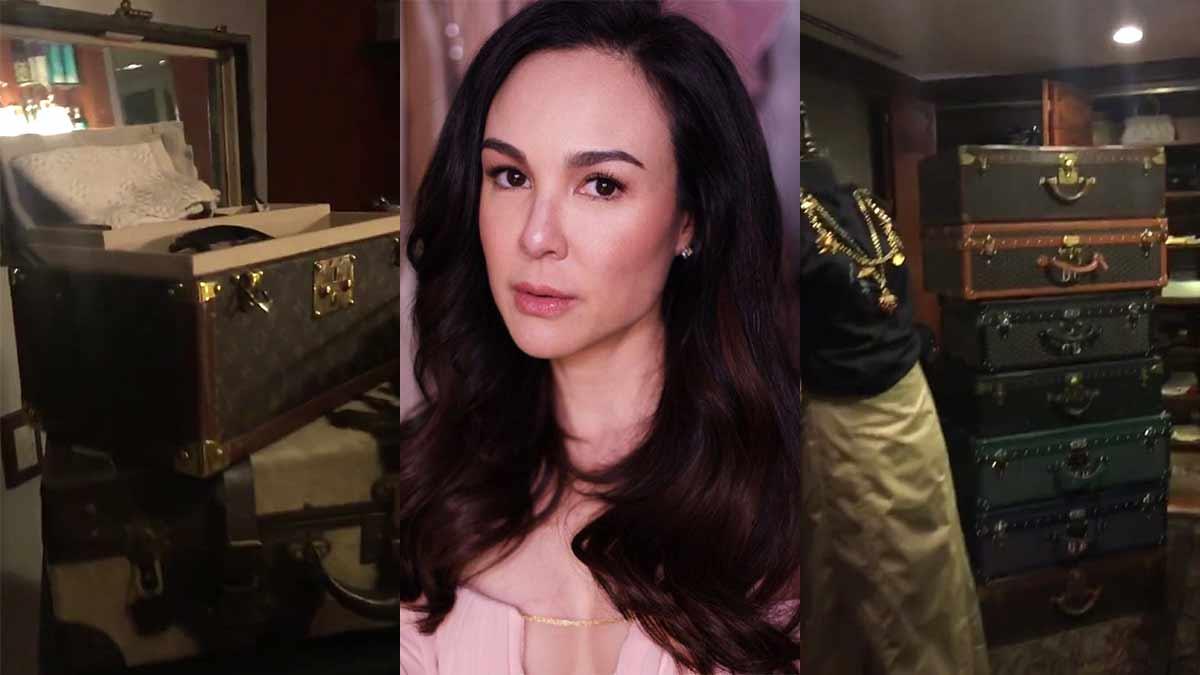 Gretchen Barretto gives a peek inside her walk-in closet