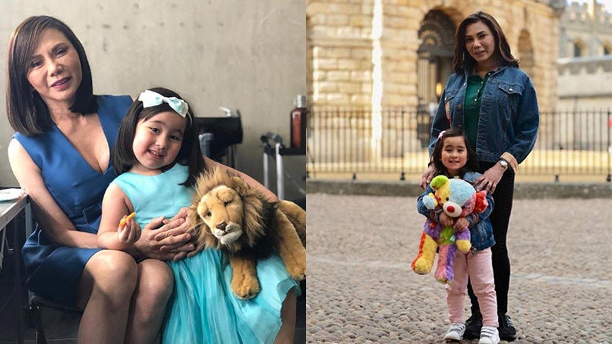 Vicki Belo shares joy of bringing up a toddler in her 60s