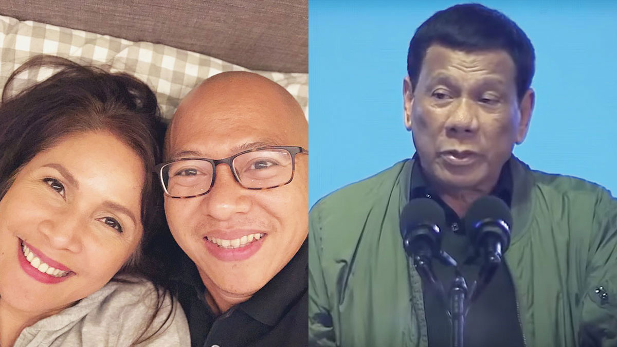 Agot Isidro defends boyfriend Pilo Hilbay after President Duterte called him gay