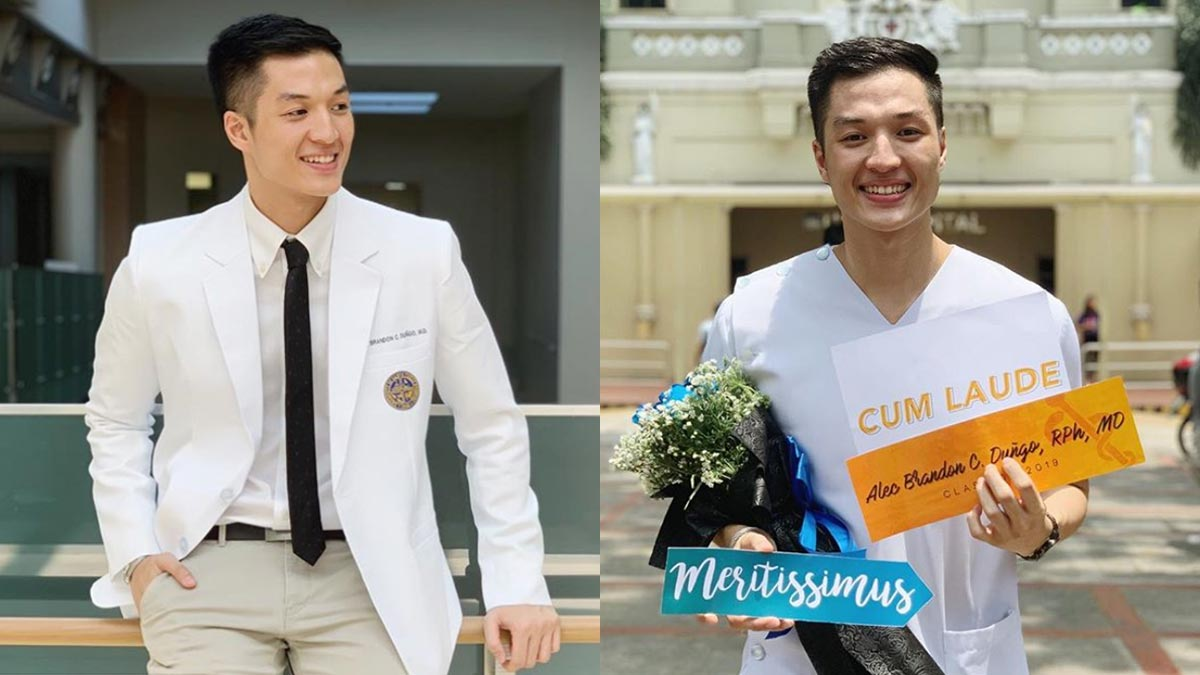 Former Pinoy Big Brother housemate Alec Dungo now a doctor—a dream come true