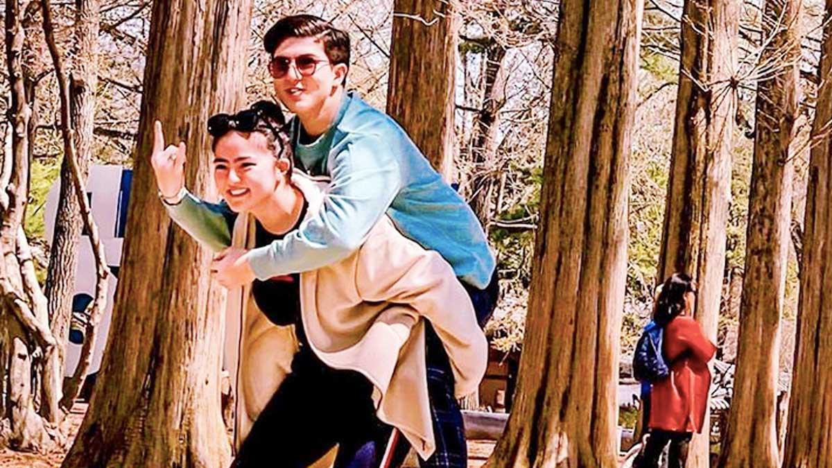 Zoren Legaspi, Carmina Villarroel, twins spend Holy Week in South Korea