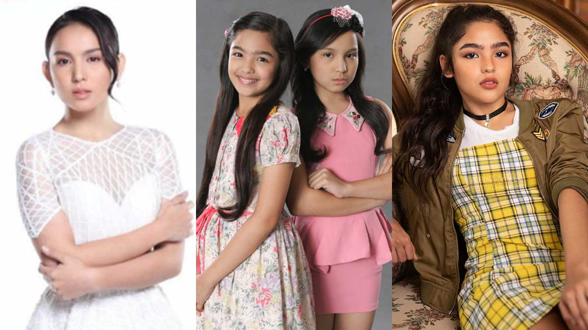 GMA star Kyline Alcantara reposts video of former ABS-CBN TV show with Andrea Brillantes