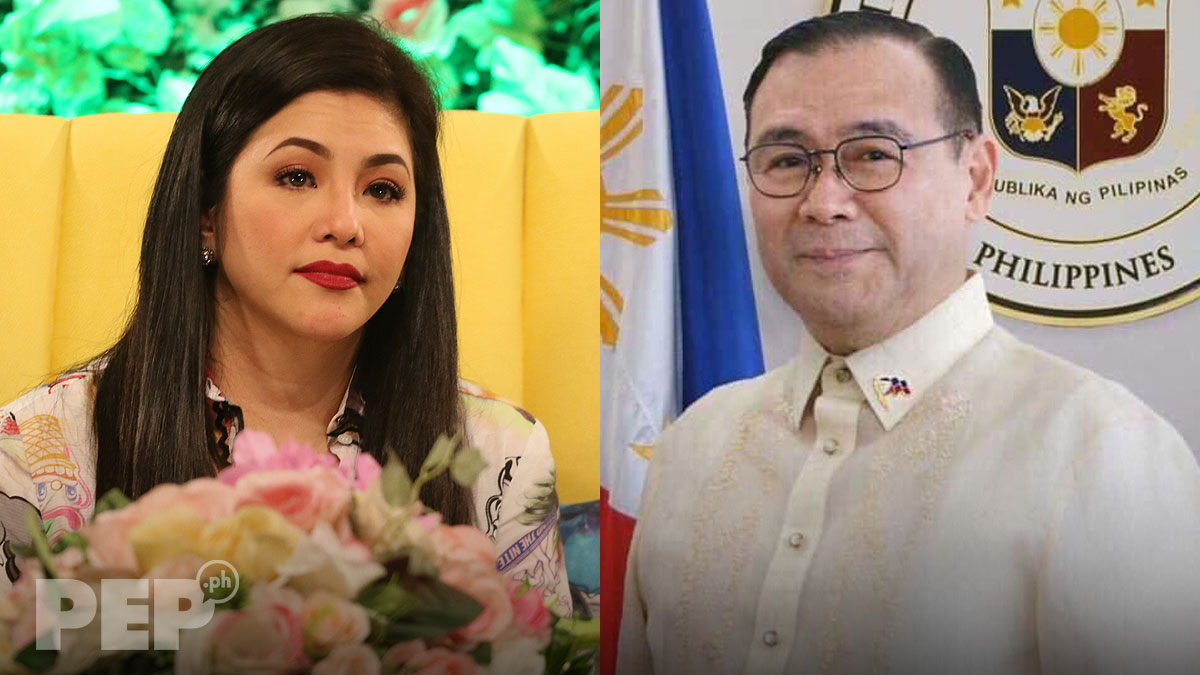 Regine Velasquez slams Teddy Boy Locsin over clam comment