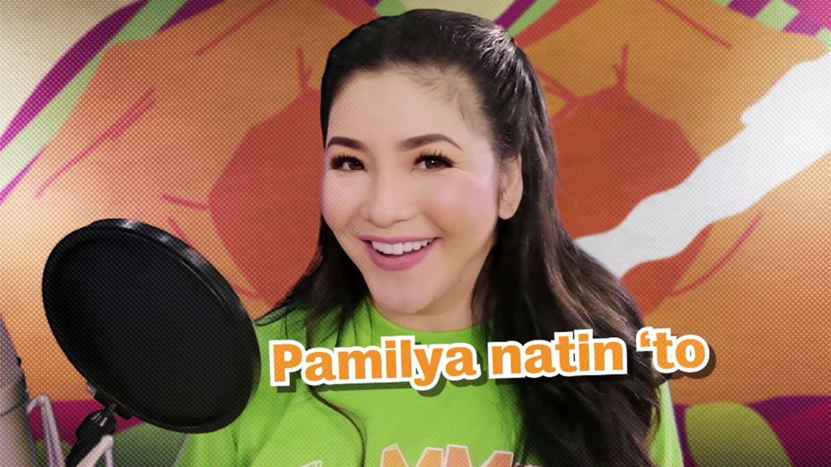 Regine Velasquez sings theme song of second ABS-CBN Station ID
