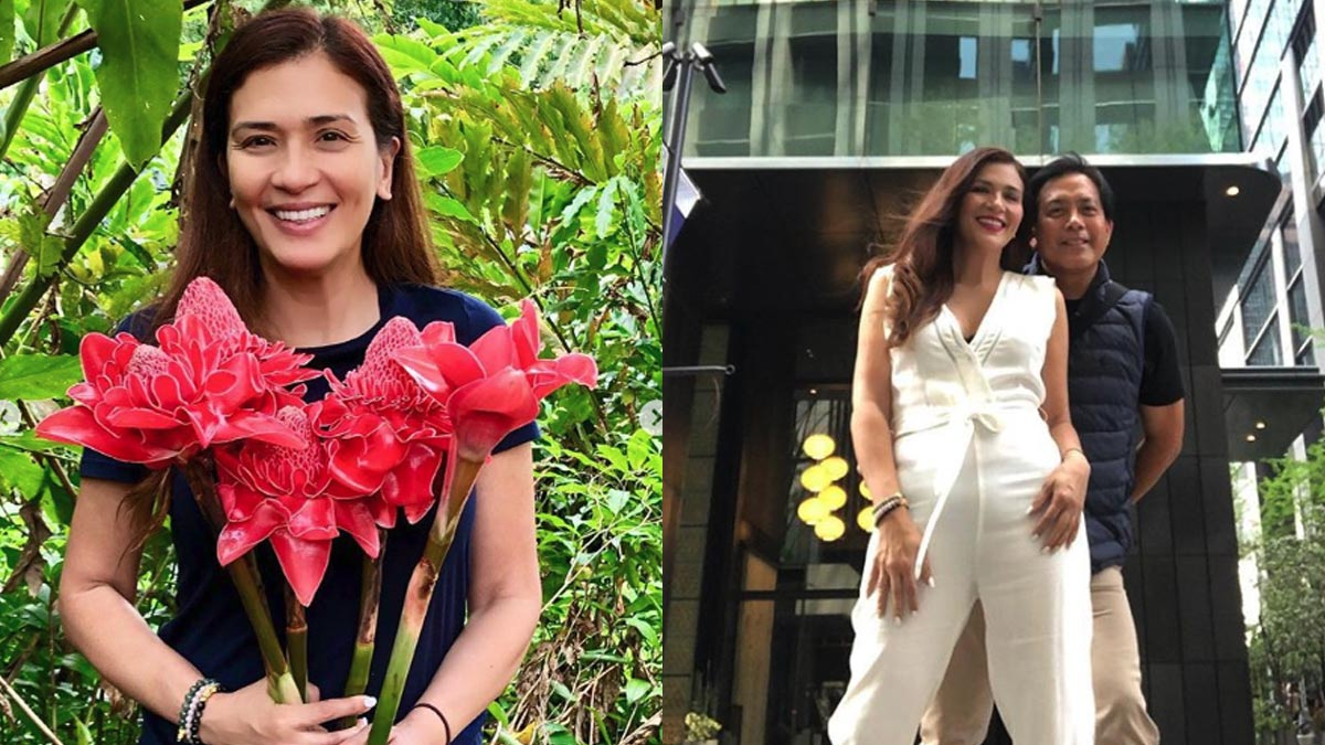 Zsa Zsa Padilla fancies a Monique Lhuillier dress for her wedding