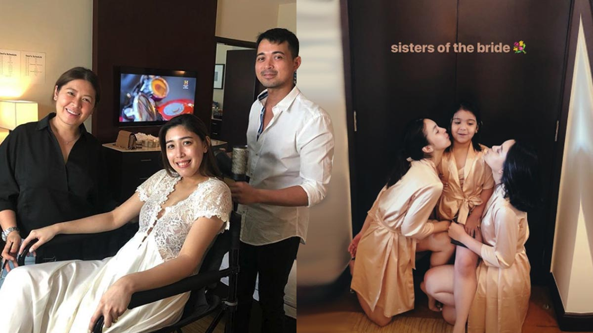 Dani Barretto gets ready for her wedding day