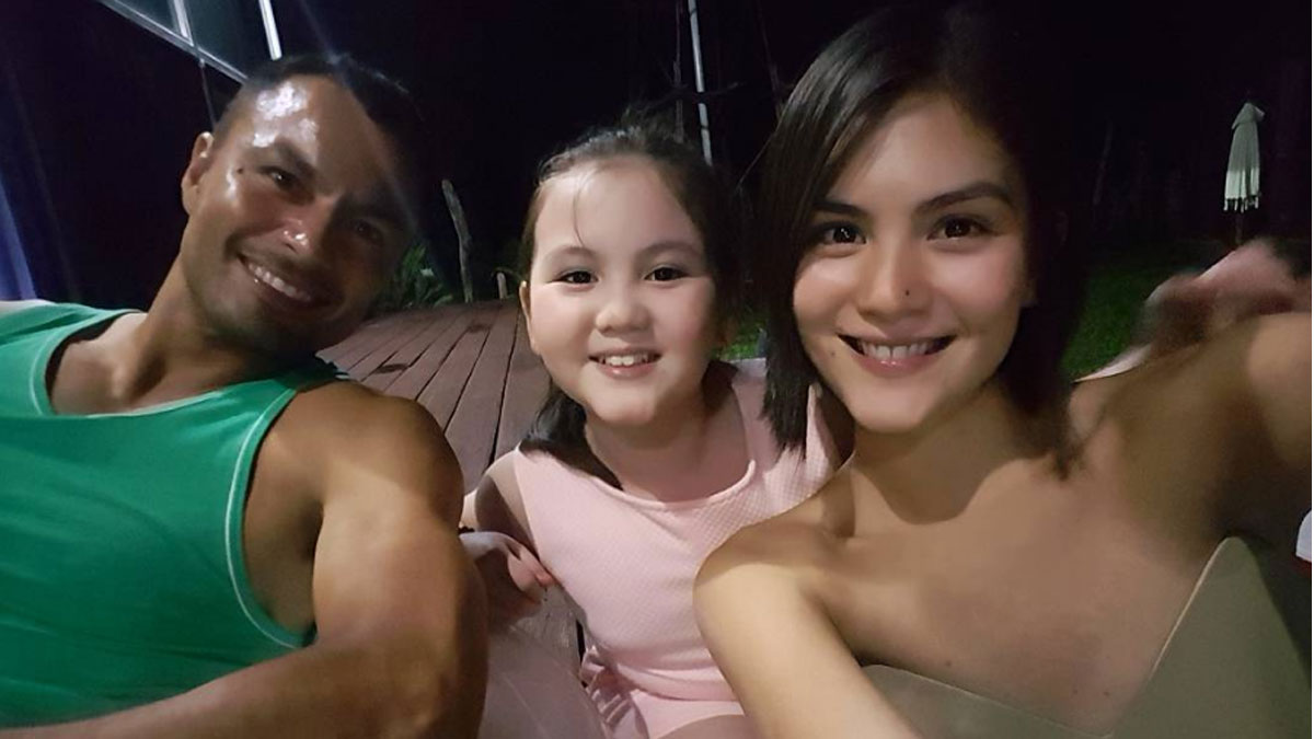 Joanne Villablanca happy about closeness of partner Derek Ramsay and daughter Sophie