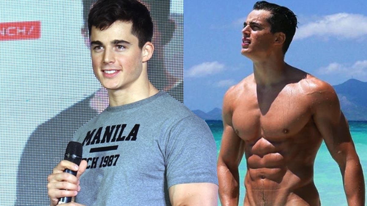 Pietro Boselli heats up social media with naked beach photos