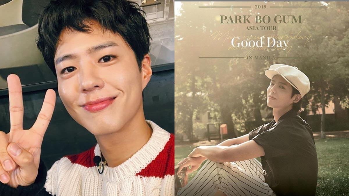 Park Bo Gum fan-meet in Manila rescheduled due to earthquake scare