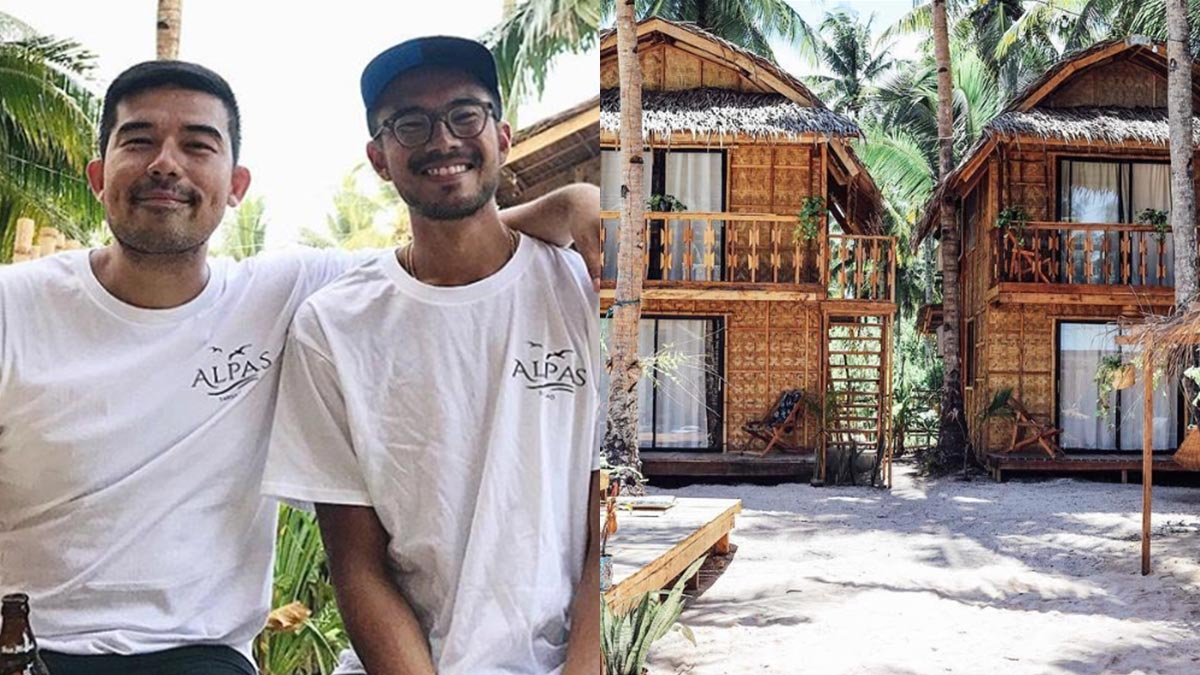 Champ Lui-Pio opens homey hostel in Siargao