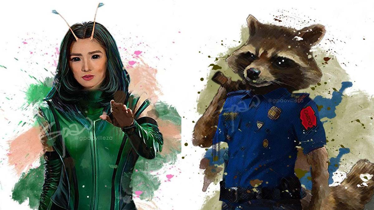 LOOK: GMA-7 and ABS-CBN stars as Pinoy Avengers