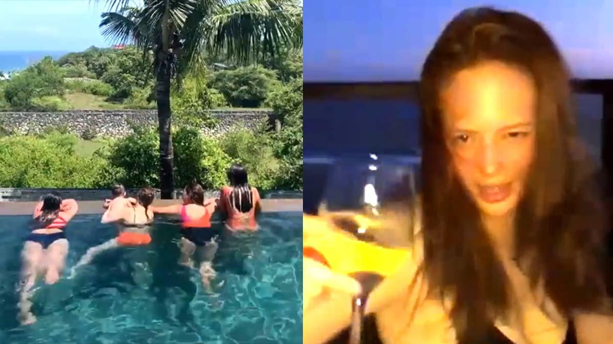 Ellen Adarna steps out in public with friends; is John Lloyd Cruz in Bali with her?