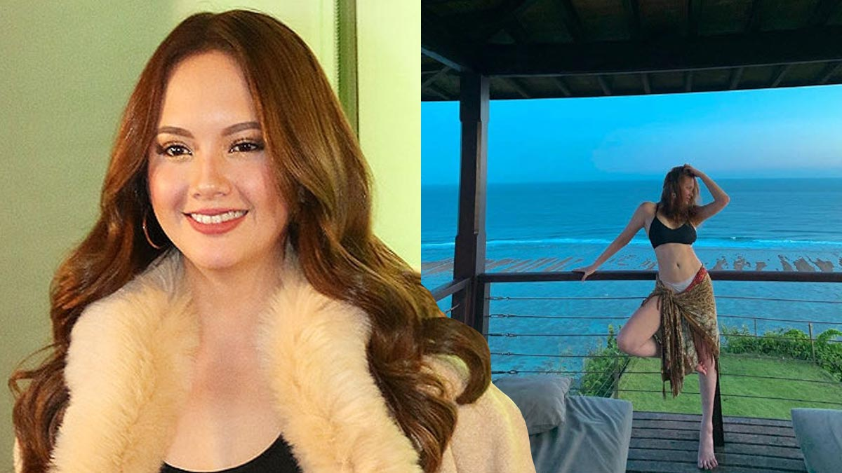 Our first look at Ellen Adarna's post-baby body