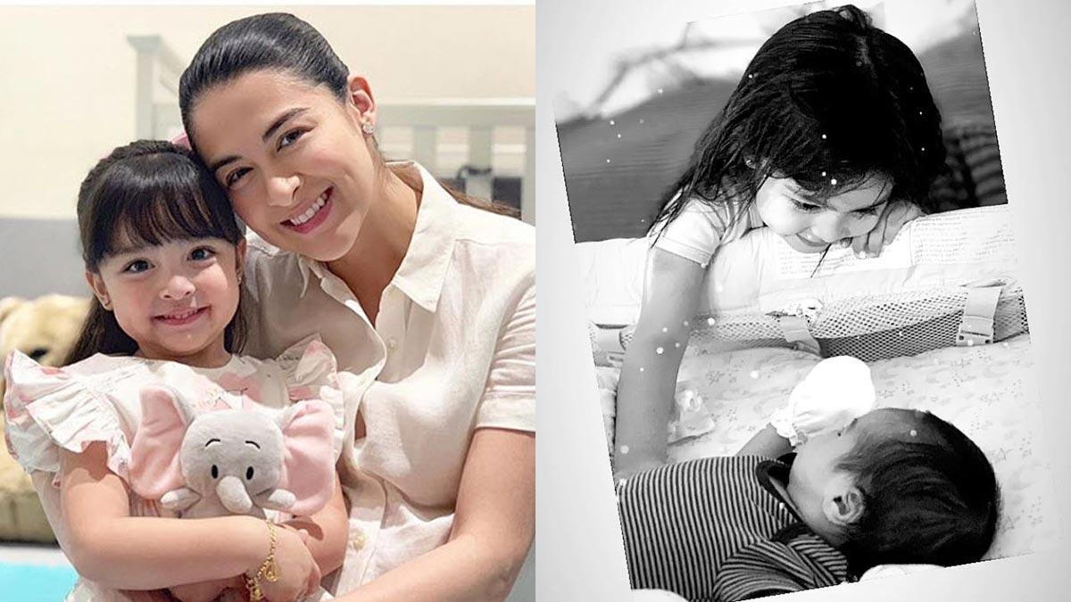 Marian Rivera posts tender moment between kids Zia and Ziggy