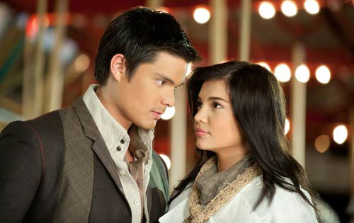 Dingdong Dantes and Rhian Ramos in Stairway To Heaven.