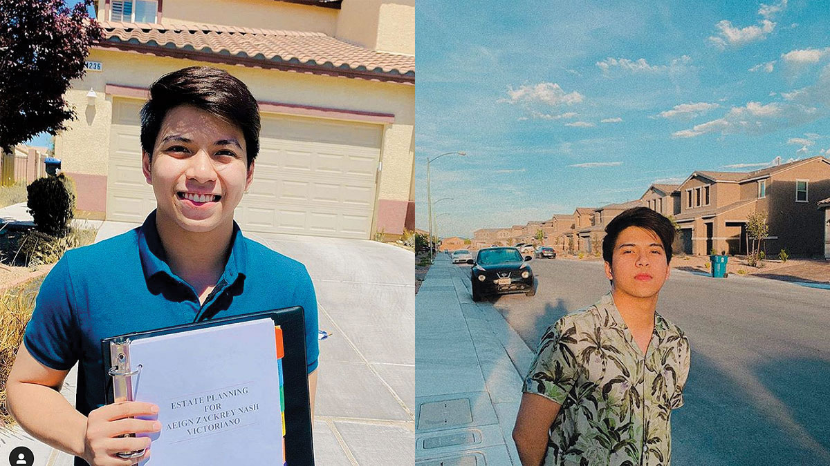 Nash Aguas, 20, buys house in the U.S.