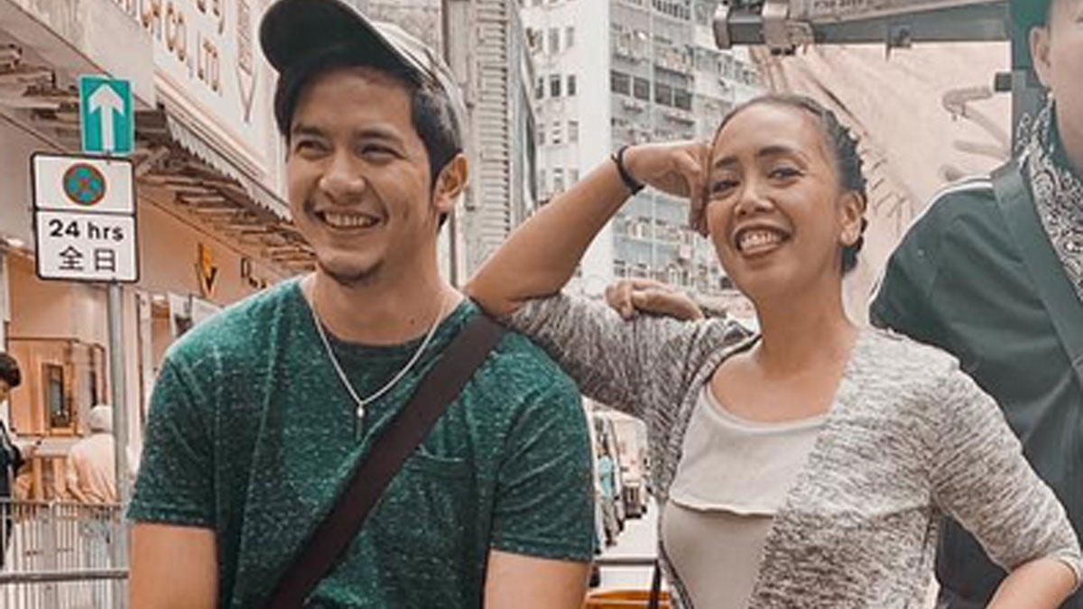 Kakai Bautista shrugs off bashers of friendship with Alden Richards