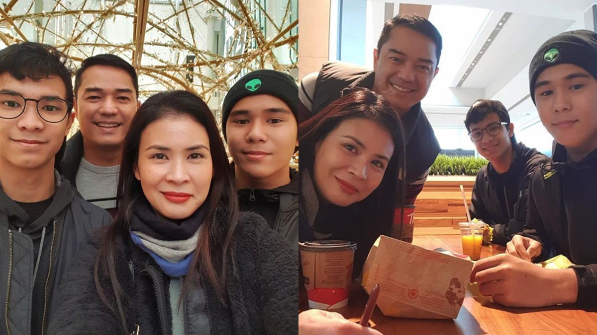 How Gelli de Belen, Ariel Rivera manage being away from sons