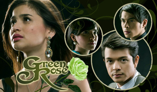 Anne Curtis, Jericho Rosales, Alessandra de Rossi, and Jake Cuenca in Green Rose.