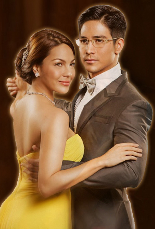 KC Concepcion and Piolo Pascual in Lovers in Paris.