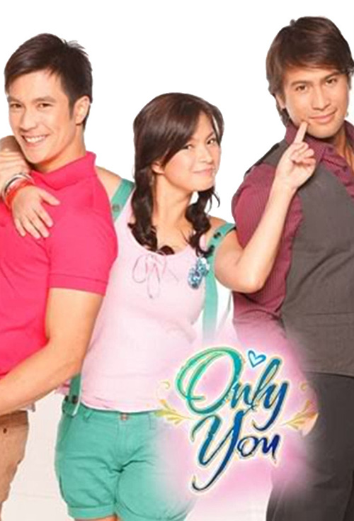 Diether Ocampo, Angel Locsin, and Sam Milby in Only You.