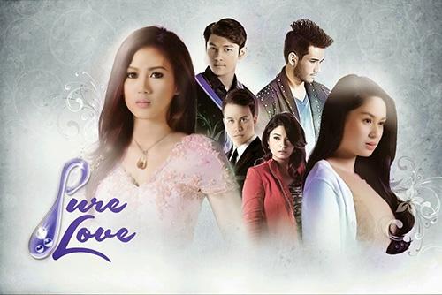 Alex Gonzaga, Joseph Marco, Arjo Atayde, Yam Concepcion, Matt Evans, and Yen Santos in Pure Love.