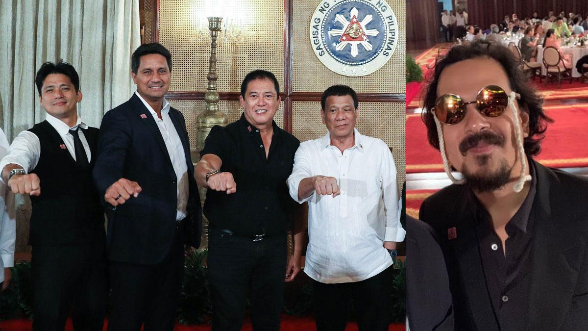 Ilang artistang dumalo sa Malacanang dinner, naweirduhan kay John Lloyd Cruz