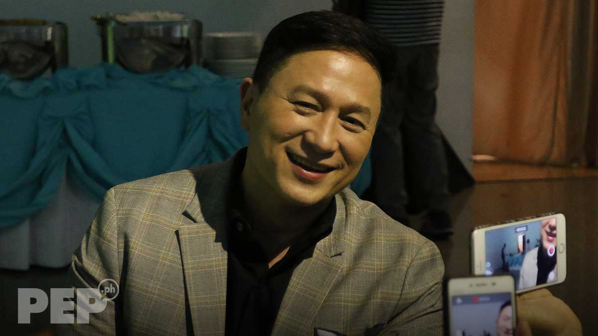 Eric Quizon speaks of showbiz burnout and love for craft