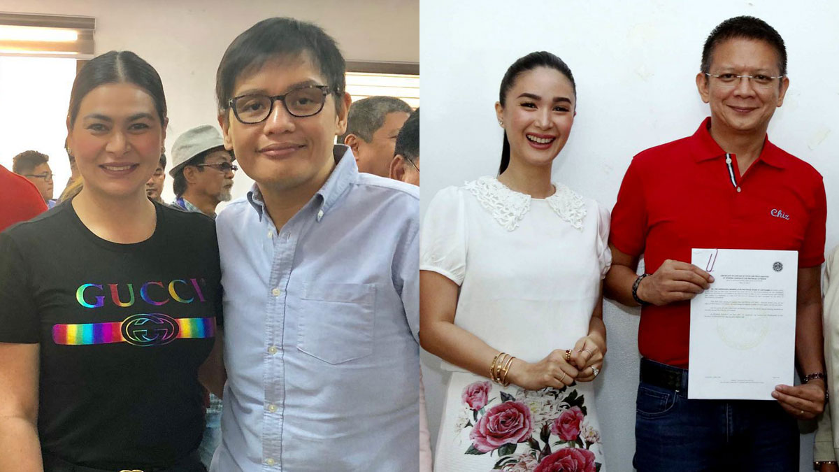 Aiko Melendez, Heart Evangelista elated over victory of partners in 2019 elections
