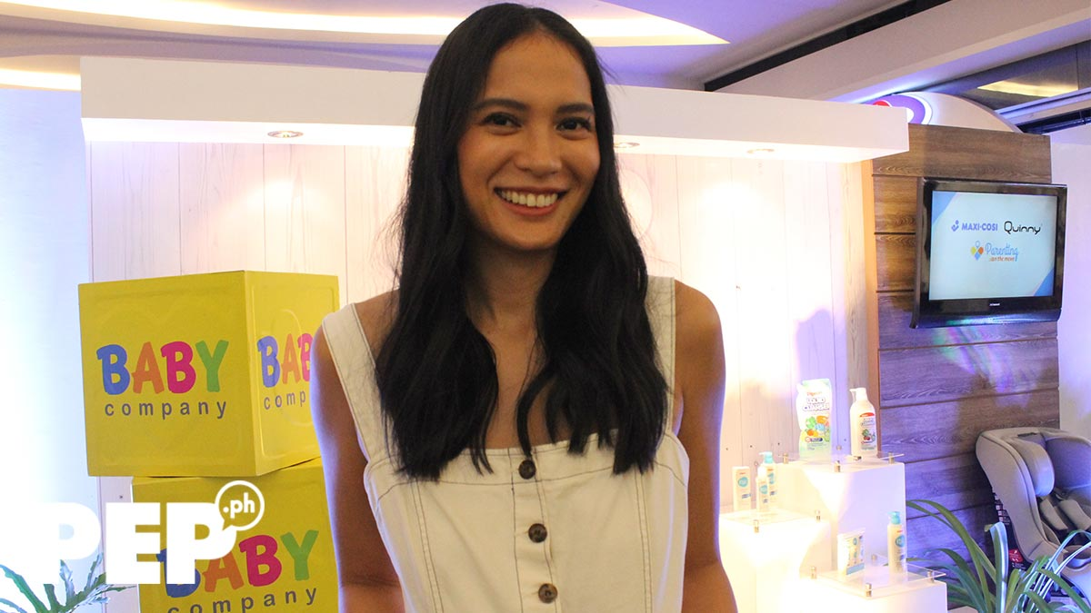 Isabelle Daza reveals what she likes about French parenting