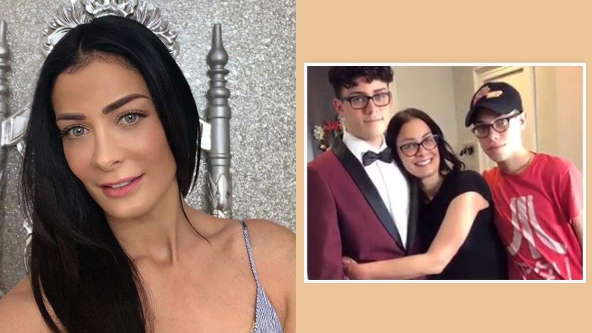 Dayanara Torres becomes son Cristian's stylist for prom