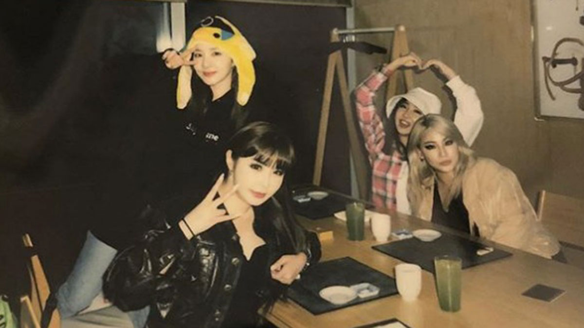 Sandara Park expresses love for fans after 2NE1 reunites to mark 10th anniversary