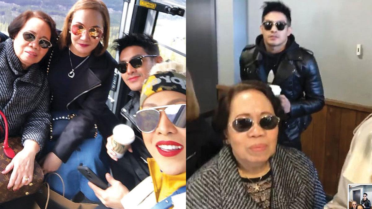 Vice Ganda tours Canada with mom, rumored boyfriend Ion Perez