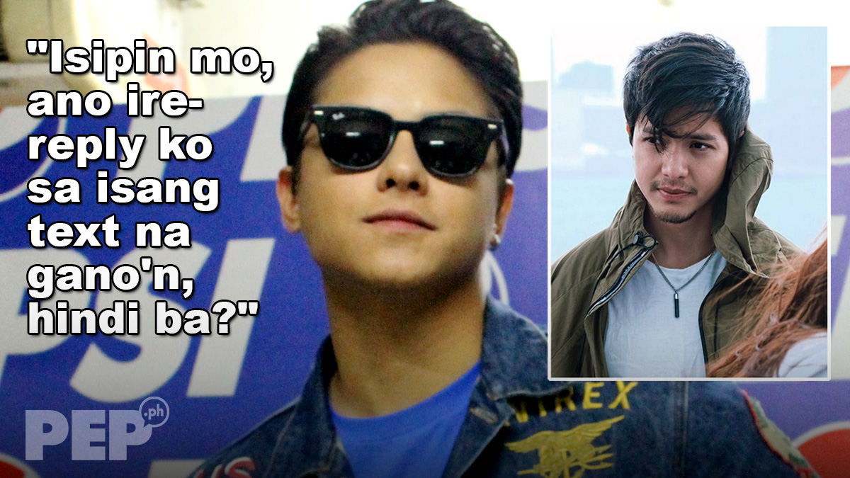 Daniel Padilla refused to text back Alden Richards