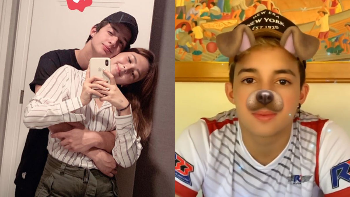 Sofia Andres denies breakup with racer-boyfriend Daniel Miranda