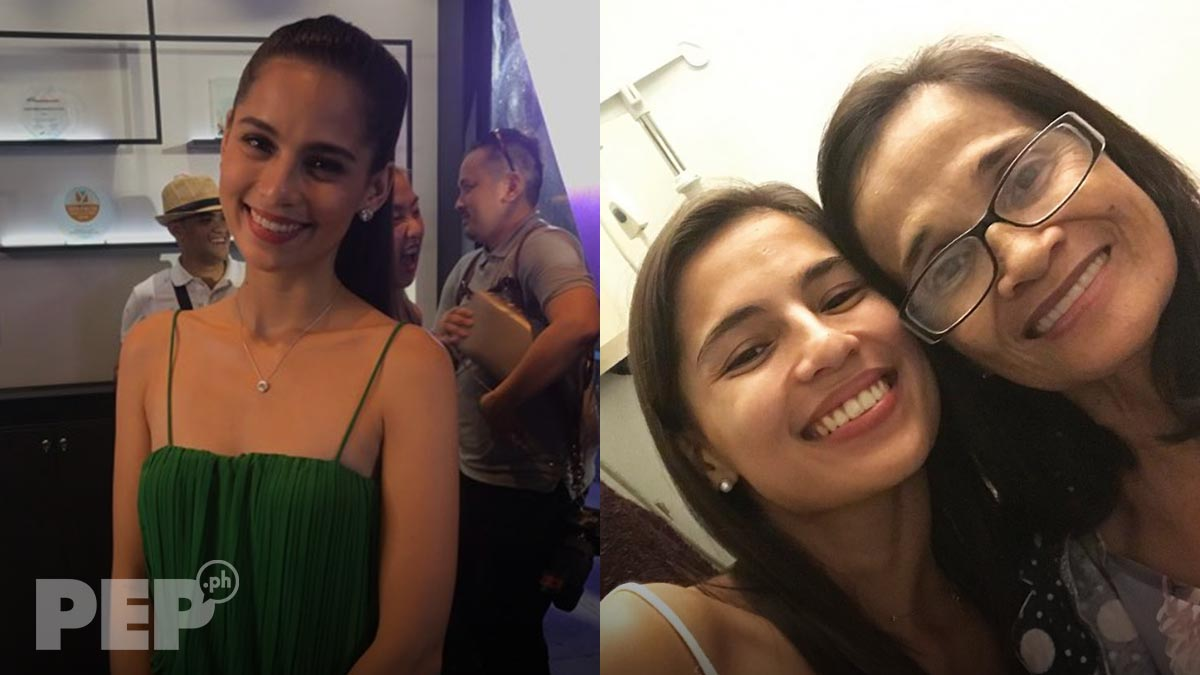 Jasmine Curtis-Smith shares important life lesson she learned from her mom