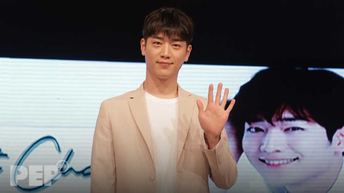 Korean star Seo Kang Jun arrives in Manila