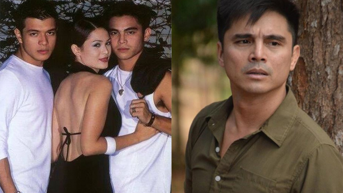 GMA-7 actor Marvin Agustin posts photo of ABS-CBN days with Kristine Hermosa, Jericho Rosales