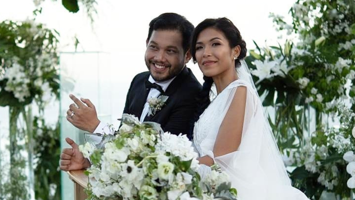 Quark Henares ties the knot with Bianca Yuzon in Bali