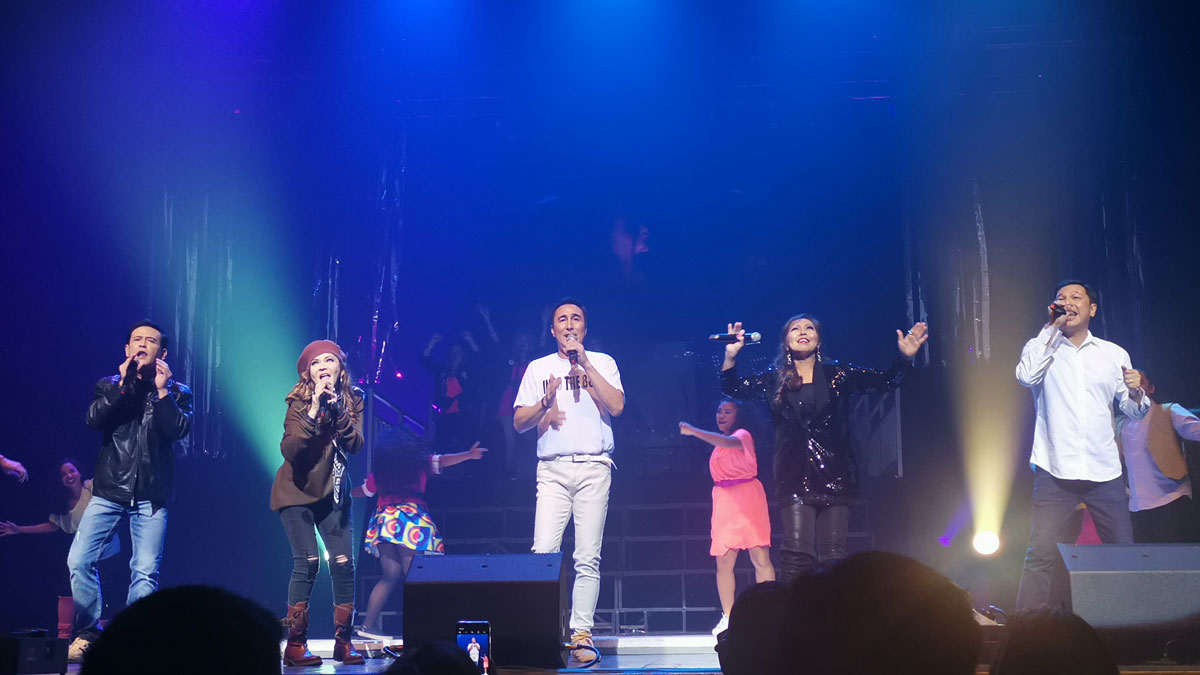 Into The '80s concert brings together music icons